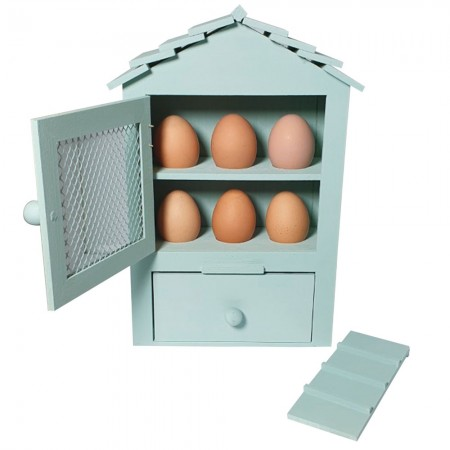 Indoor Egg House - Red Candy
