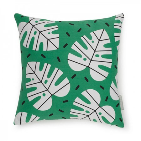 Evermade Monstera Cushion - Red Candy