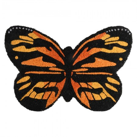 Butterfly Door Mat - Red Candy