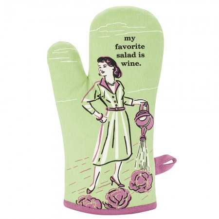 My Favorite Salad Oven Glove - Red Candy