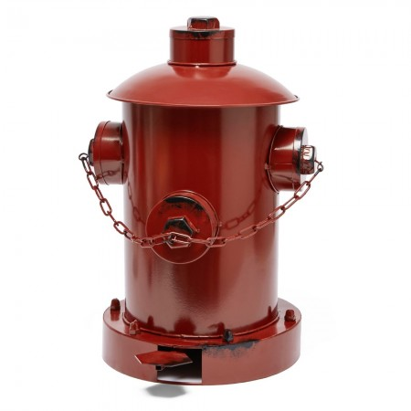 Fire Hydrant Pedal Bin (Red) - Red Candy