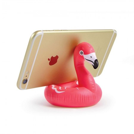Float On Flamingo Mobile Phone Holder - Red Candy