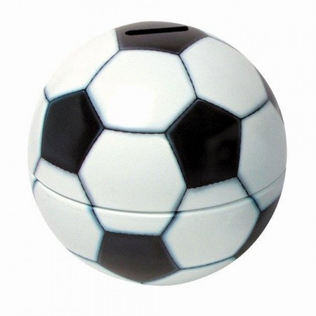 Football Money Box - Red Candy