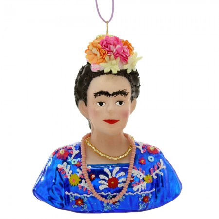 Frida Khalo Bauble - Red Candy