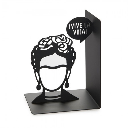 Frida Kahlo Bookend - Red Candy