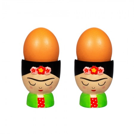 Frida Egg Cup Set of 2 - Red Candy