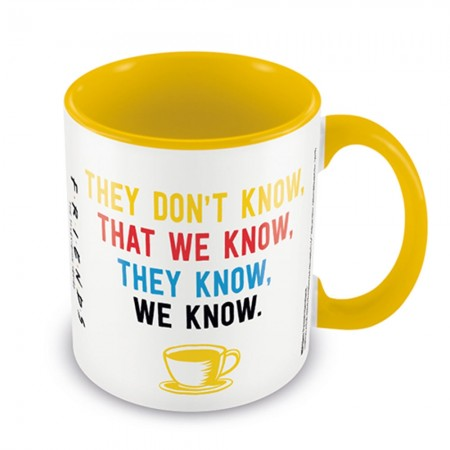 Friends We Know Mug - Red Candy