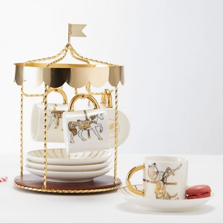 Carousel Tea Set - Red Candy