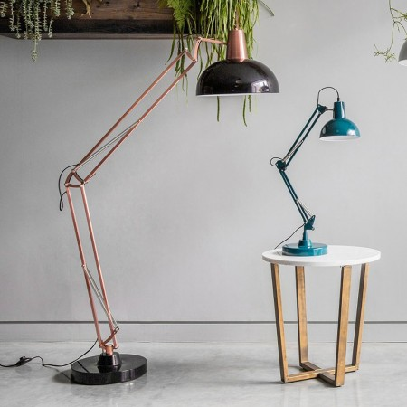 Giant Floor Lamp (Black & Bronze) - Red Candy