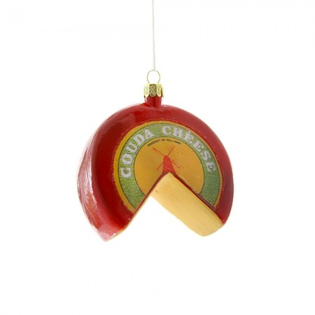 Gouda Cheese Bauble - Red Candy