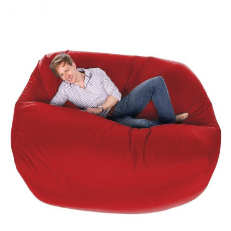 Giant Bean Bag (Red) - Red Candy