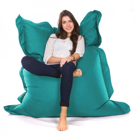 Oxford Bean Bag (Sky Blue 3 Sizes) - Red Candy
