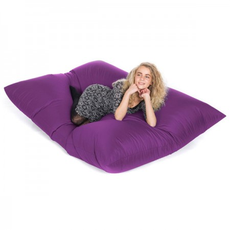 Slab Indoor Outdoor Bean Bag (Purple) - Red Candy
