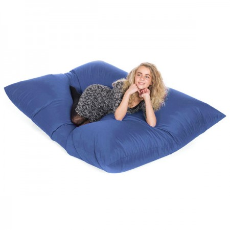 Slab Indoor Outdoor Bean Bag (Royal Blue) - Red Candy