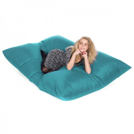 Slab Indoor Outdoor Bean Bag (Sky Blue) - Red Candy