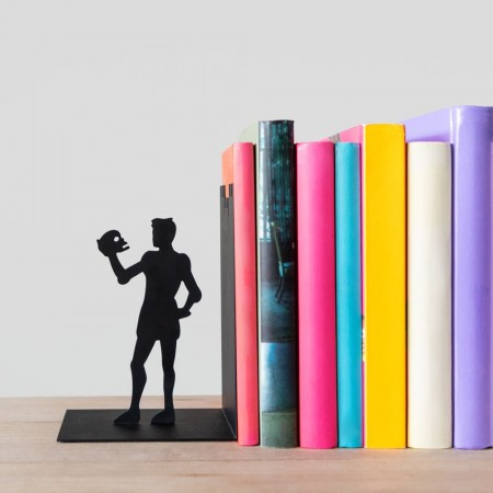 Hamlet Bookend - Red Candy