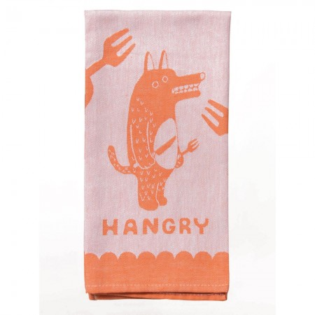 Hangry Tea Towel - Red Candy