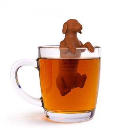Hot Dog Dachshund Tea Infuser - Red Candy