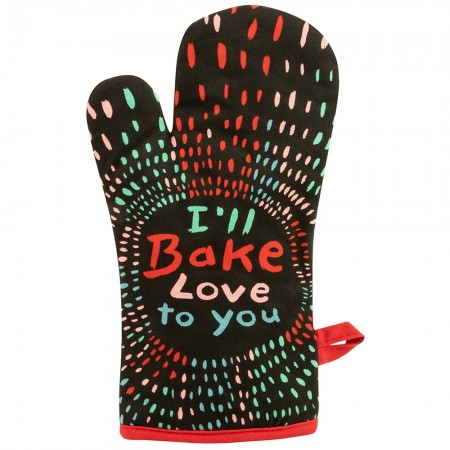 Bake Love To You Oven Glove - Red Candy