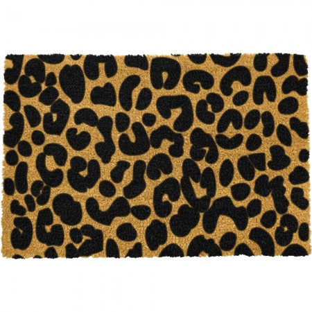 Leopard Spots Doormat - Red Candy