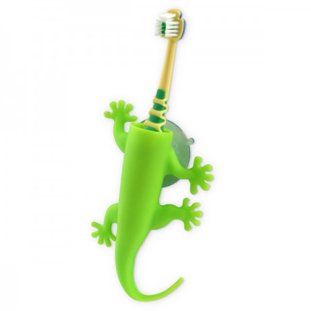 Larry Lizard Toothbrush Holder (Green) - Red Candy