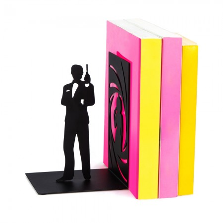James Bond Bookend - Red Candy