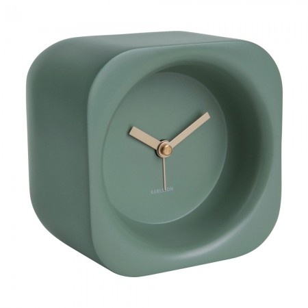 Karlsson Chunky Alarm Clock (Green) - Red Candy