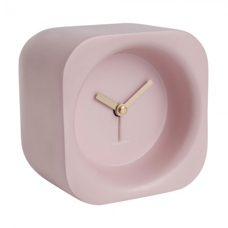 Karlsson Chunky Alarm Clock (Pink) - Red Candy