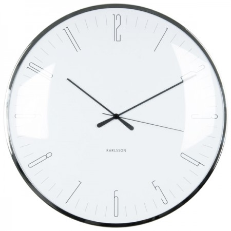 Karlsson Dragonfly Wall Clock (White) - Red Candy