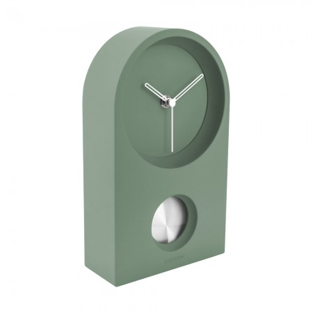 Karlsson Taut Clock (Green) - Red Candy