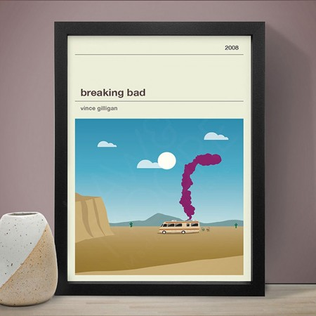 Breaking Bad Art Print - Red Candy