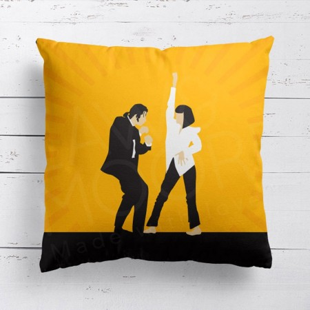 Pulp Fiction Cushion - Red Candy
