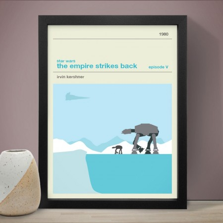 Star Wars The Empire Strikes Back Art Print - Red Candy