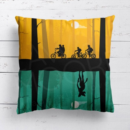 Stranger Things Cushion - Red Candy