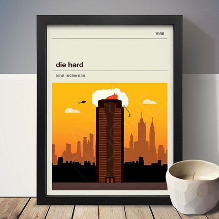 Die Hard Art Print - Red Candy