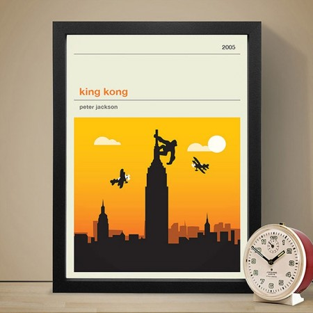 King Kong Art Print - Red Candy