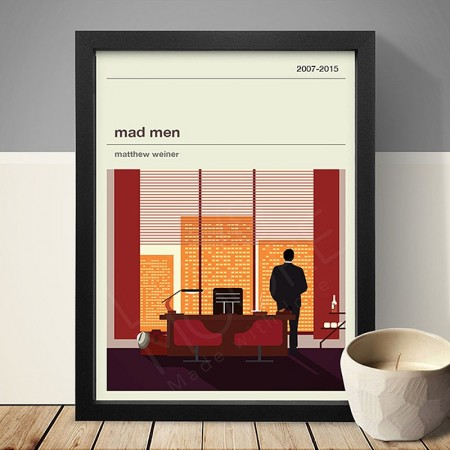 Mad Men Art Print - Red Candy