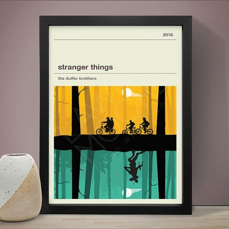 Stranger Things (Y&G) Art Print - Red Candy