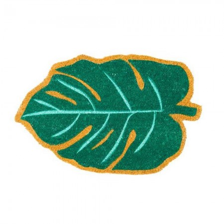 Leaf Doormat - Red Candy