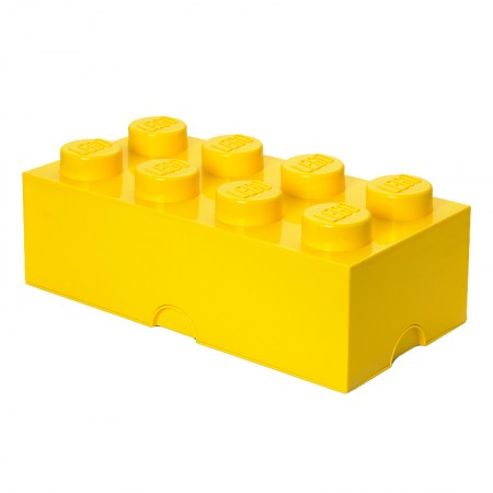 Lego Storage Brick (Yellow, 2 Sizes Available) - Red Candy