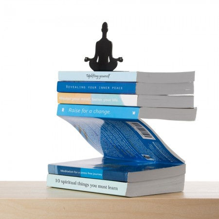 Levitating Book Display - Red Candy