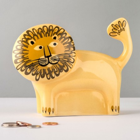 Lion Money Box - Red Candy