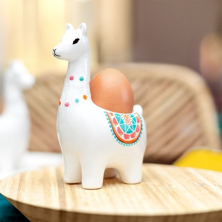 Llama Egg Cup - Red Candy