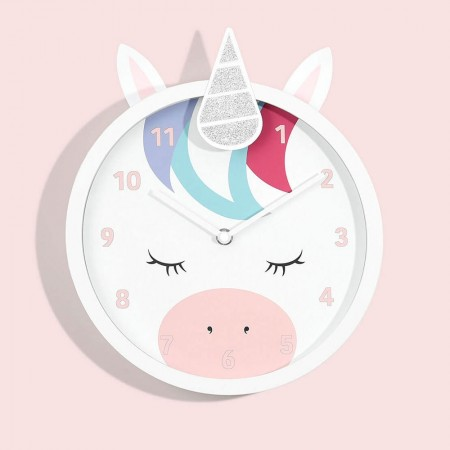 Lola the Unicorn Wall Clock - Red Candy