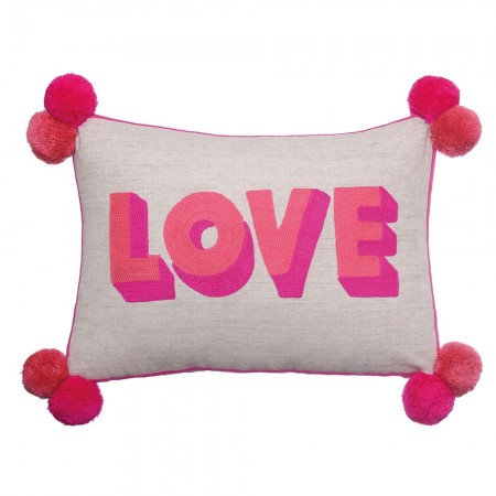 Love Cushion - Pink - Red Candy