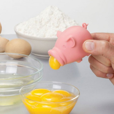 YolkPig Egg Separator - Red Candy