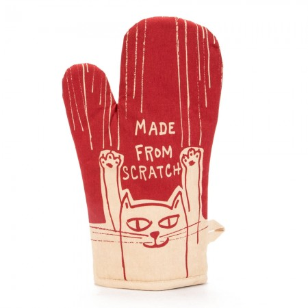 Made From Scratch Oven Mitt - Red Candy
