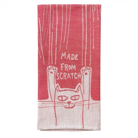 Made From Scratch Tea Towel - Red Candy