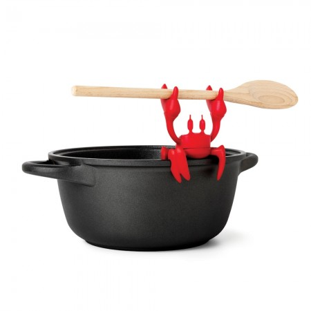 Crabby Spoon Holder - Red Candy