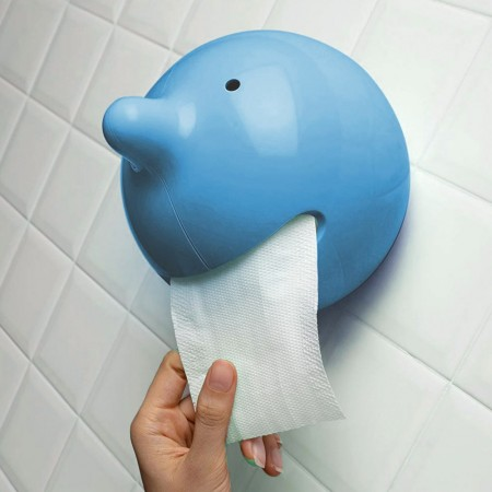 Mr P Toilet Roll Holder (Blue) - Red Candy